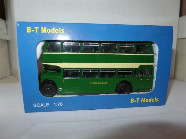 B T Models B115B Bristol Lodekka LD6G Bus Hants & Dorset Wimbourne Closed Door